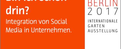 Bin ich schon drin? Integration von Social Media in die Unternehmenskommunikation